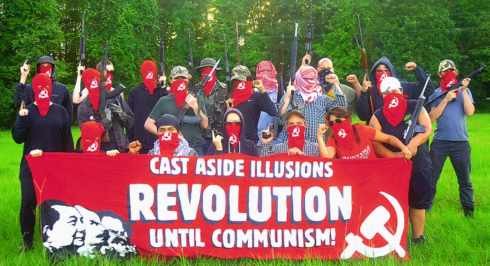Picture from Red Guards Austin blog post on revolutionary violence