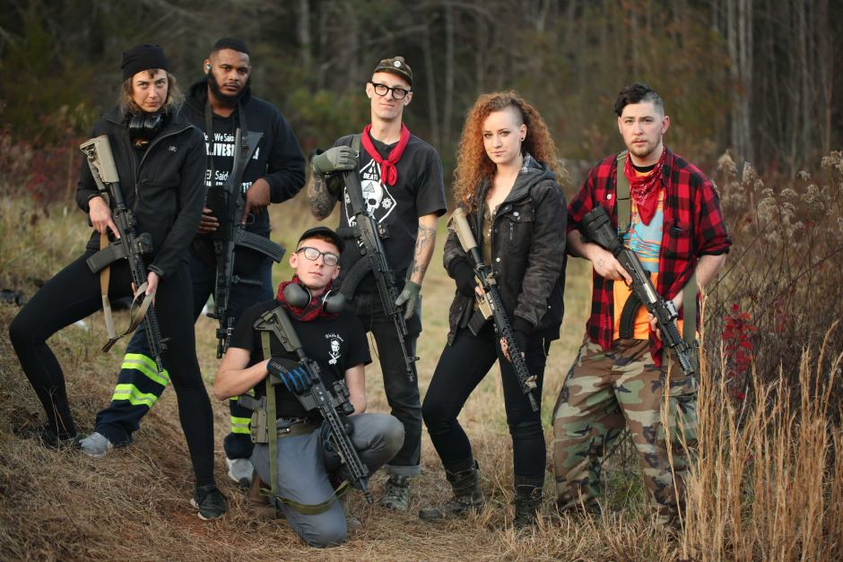 This UNC Professor is part of a far-left militia group